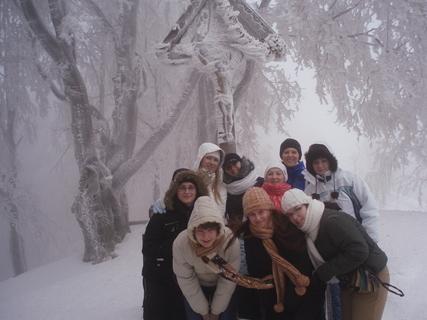 FOTKA - vianočná nálada na snehu