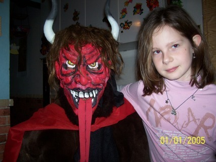 FOTKA - Čert mojí dcerkou