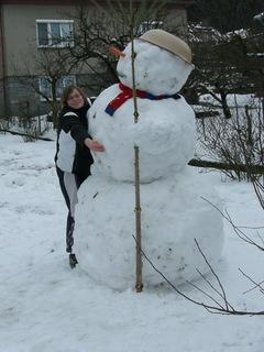 FOTKA - sněhulajda a já