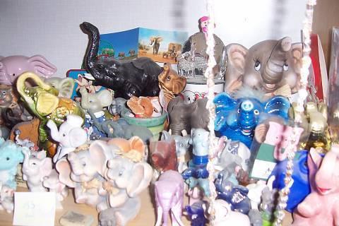 FOTKA - první polovina sbírky slonů
