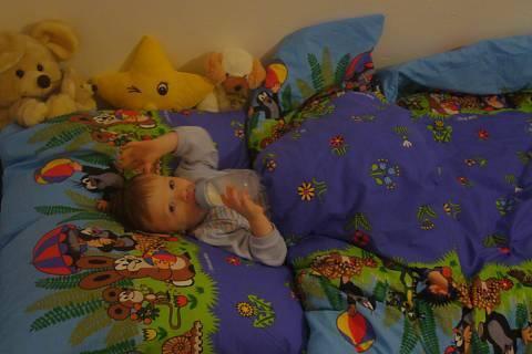 FOTKA - nová postel