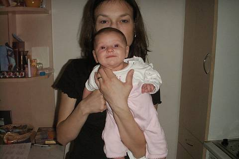 FOTKA - S maminkou veselá