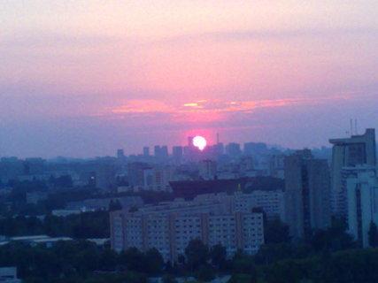 FOTKA - Západ slunce v Paříži 02