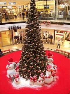 FOTKA - vánoční výzdoba Arkády Praha .......