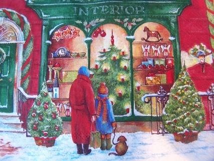 FOTKA - foto vánočního ubrousku