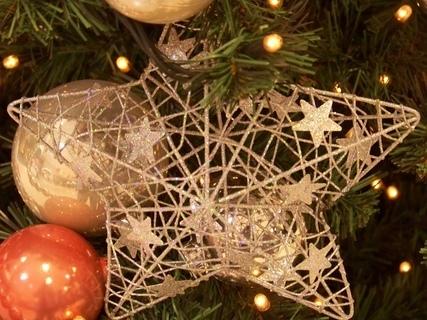 FOTKA - vánoční výzdoba Arkády Praha ..........
