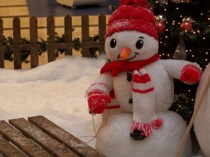 FOTKA - vánoční výzdoba Arkády Praha ...................
