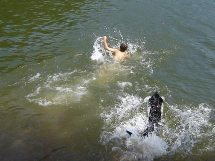 FOTKA - v létě u vody