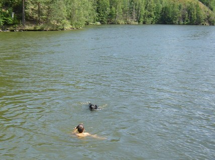 FOTKA - v létě u vody.