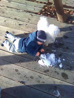 FOTKA - První sníh :o)