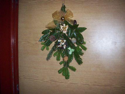 FOTKA - vánoční závěs na dveře