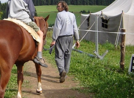 FOTKA - na koni,