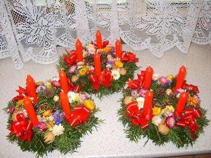 FOTKA - vánoční svícínky