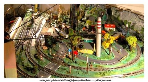 FOTKA - dárky pro nejmilejší- elektrická železnice