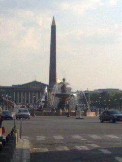 FOTKA - Náměstí Svornosti s obeliskem v Paříži - 01