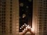 Vánoční výzdoba okna
