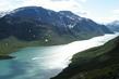 Na horském jezeře