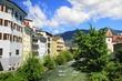 Záběr z města Brunica