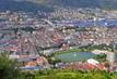 Pohled na město Bergen