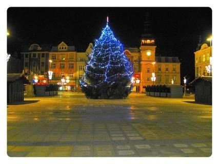 FOTKA - advent - vánoční Masarykovo náměstí- Ostrava