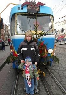 FOTKA - čertovská tramvaj
