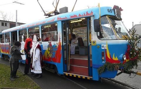 FOTKA - čertovská tramvaj 2