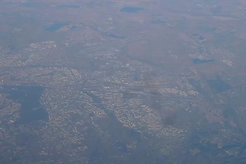 FOTKA - Praha z letadla