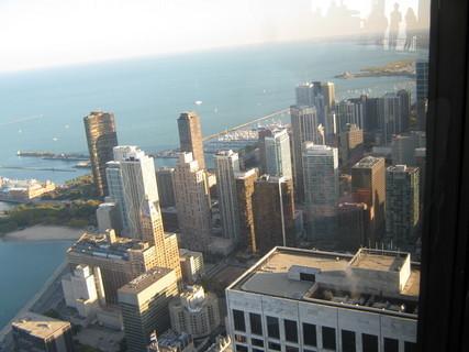 FOTKA - Chicago-pohled na oceán a mrakodrapy