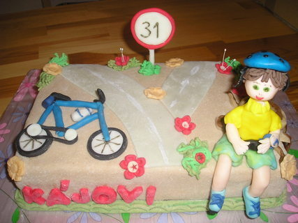 FOTKA - cyklista