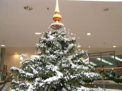 FOTKA - sněžící stromeček dekorace Arkády