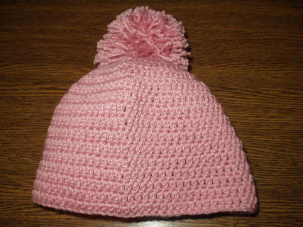 FOTKA - Zimní čepice, kterou dělala Lucka