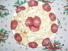 Sýrový talířek s korbáčky, příprava na Silvestra