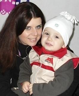 FOTKA - Tomek s tetou na oslavě