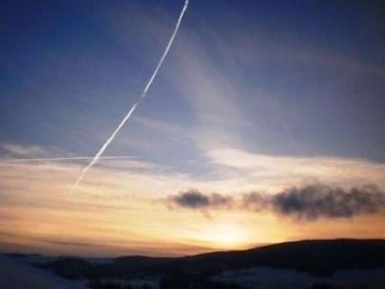 FOTKA - Západ slunce , /15.13 hod /  -  21.12.2009