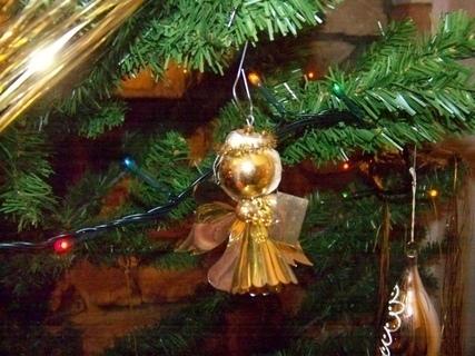 FOTKA - andílek na stromku...