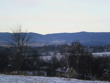 FOTKA - Pohled na Liberec - 29.12.2009.