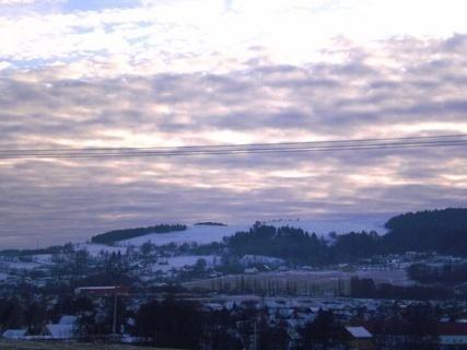 FOTKA - Ještědský hřeben, louky  / liberecký kraj / - prosinec 2009.