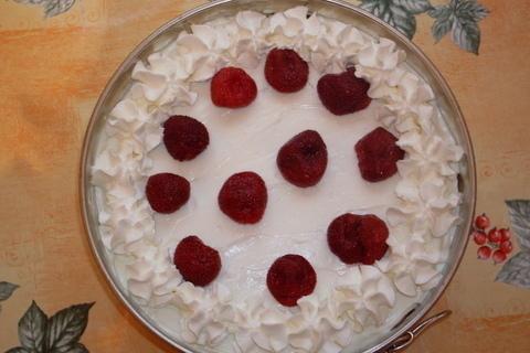 FOTKA - Nepečený jahodový dort...