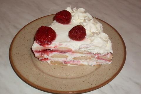 FOTKA - Nepečený jahodový dort....