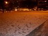 Zatím je tu sníh skoro všude...