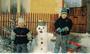 postavíme sněhuláka...