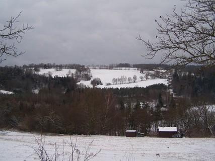 FOTKA - Lednová zasněžená  krajina