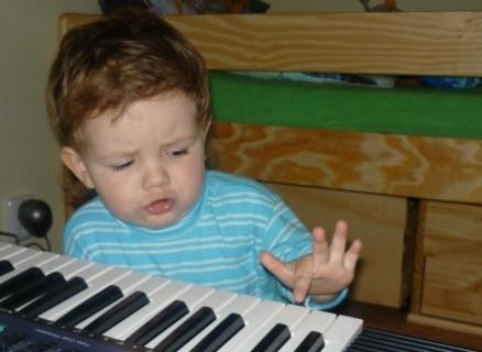 FOTKA - ze bych byl muzikantem??