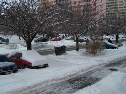 FOTKA - zima ve městě .