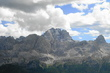 Dolomity nad Cortinou