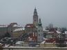 Zimní výhled na Krumlov