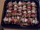 Připraveno k pečení - špízy, je jich dvacet :-)