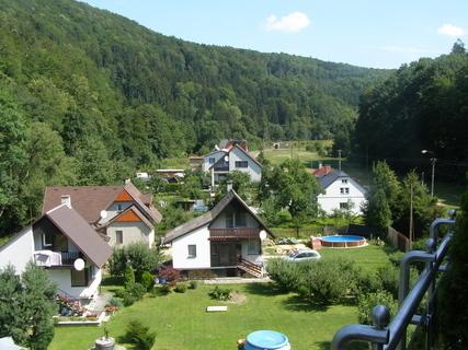 FOTKA - Výhled z balkónu