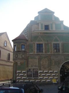 FOTKA - Měšťanský dům v Telči