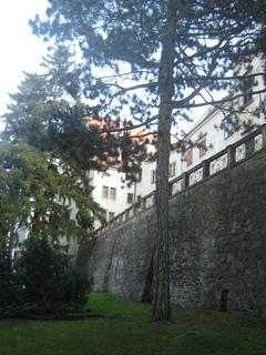 FOTKA - Telč - ze zámecké zahrady